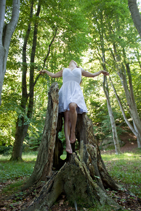 levitation, self portrait, post-processing, Photoshop, conceptual, bird, fly, take off, forest, Behind the scenes