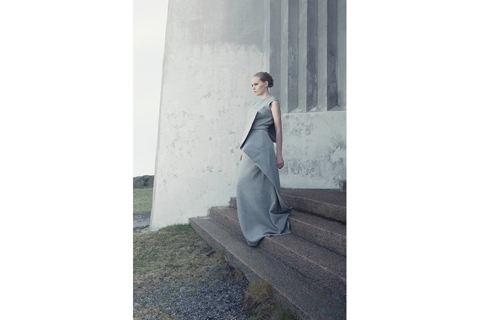 Conceptual fashion shoot for designer Emelie Arvidsson