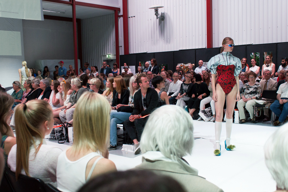 Inspiration from the fashion show of Borås Textilhögskola – EXIT13