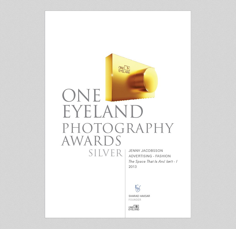 Winner of international One Eyeland Awards, category Advertising – Fashion