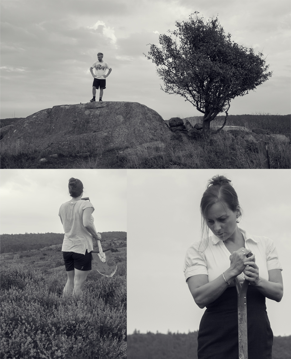 Behind the Scenes footage from conceptual portrait by photographer JENNY JACOBSSON, at Sandsjöbacka, Göteborg
