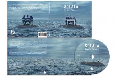 Music album cover art for Solala – stormy portraits in Göteborg