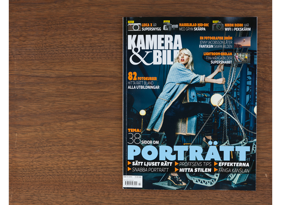 Feature and interview for Kamera & Bild – PORTRAIT SPECIAL