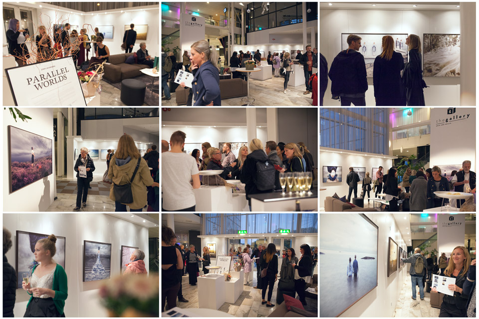 'PARALLEL WORLDS' – Solo exhibition at Gothia Towers The Gallery
